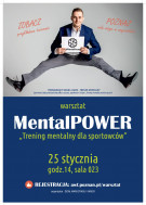 PLAKAT AWF 59 84 4szt plakat Mental Power